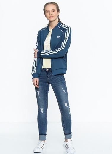 Fermuarlı Sweatshirt-adidas
